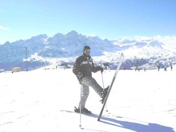 Por fin volví a esquiar
